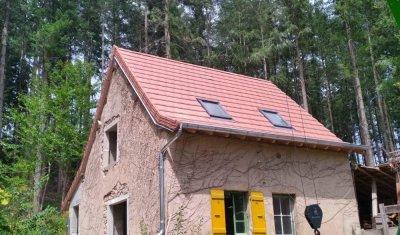 Rénovation d'une toiture en tuile terre cuite type Alpha 10 à Ozolles Charpente Matourine