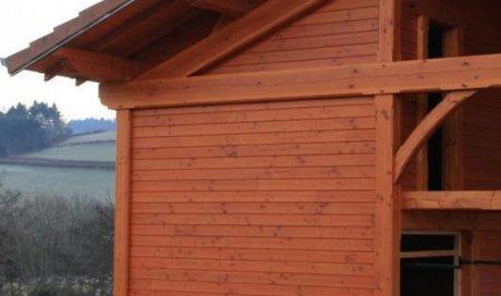 Installation de bois Matour