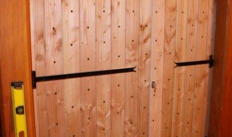 Porte en bois Matour