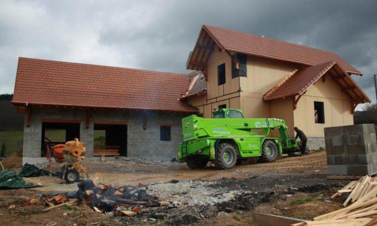 Construction de maison ossature bois Matour